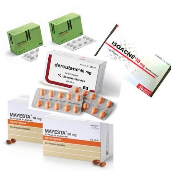 Tratamiento del acné con isotretinoína (Roacutan)