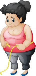 obesidad metro