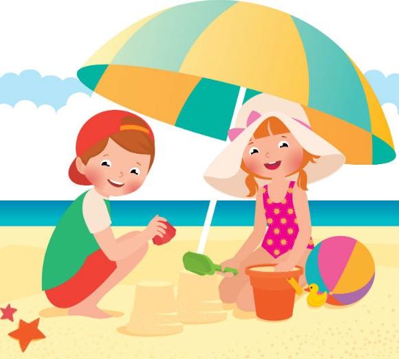 Protección solar en los niños