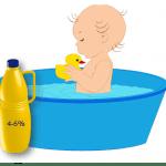Baños de lejía para la dermatitis atópica