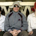 Tres personas albinas