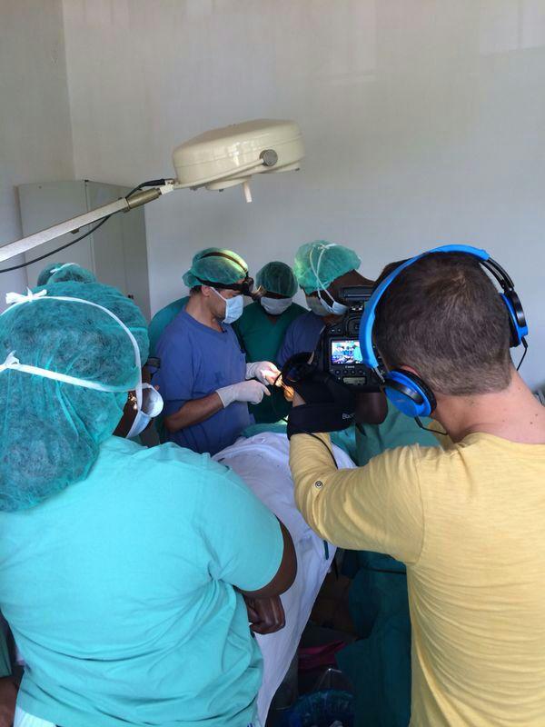 Grabación cirugia Luis Ríos