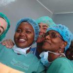 compañeros de trabajo desde el RDTC Tanzania