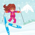 ¿Cómo protegerse del sol en la en la nieve?