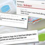Las toallitas para bebés pueden causar alergias alimentarias, ¿o no?