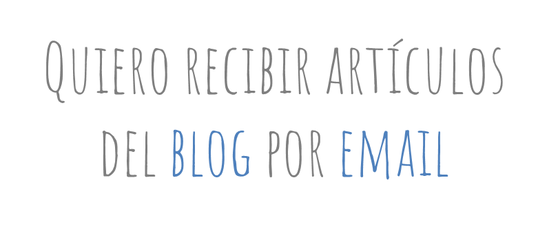 ¡SIGUE EL BLOG!