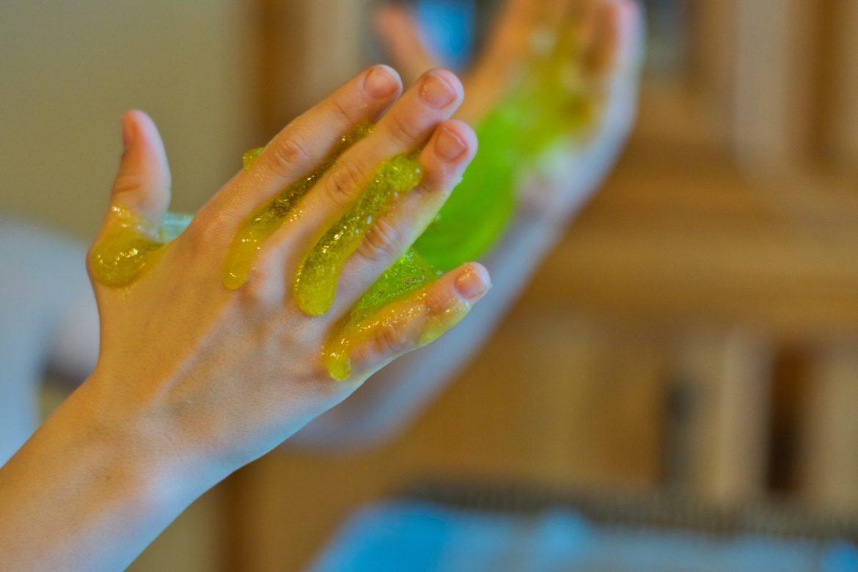 slime dermatitis contacto
