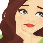 Granitos alrededor de la boca y la nariz: dermatitis perioral
